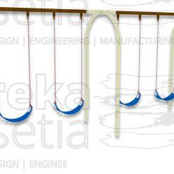 Arch Swing 4 Seater - Belt