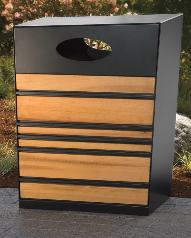 01 Tournesol Strand Litter Bin Moodie Outdoor Products