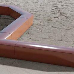 Street Furniture Urban GFRC Bench 1