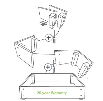 eWood_Raised_Garden_Bed_Easy_Assembly_Body