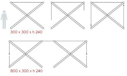 XShade Shade Canopy Dimensions