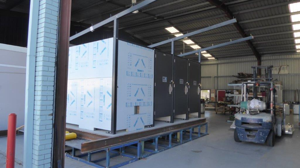 Transportable Restroom 1D2A Pre-Load 1